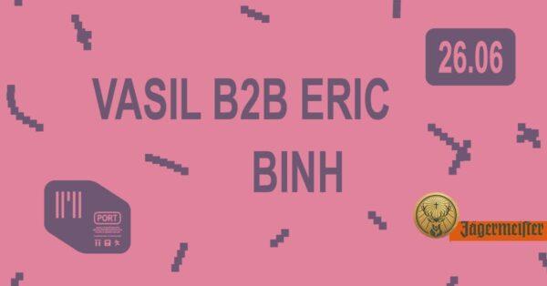 PORT 26/06: Binh, Eric, Vasil