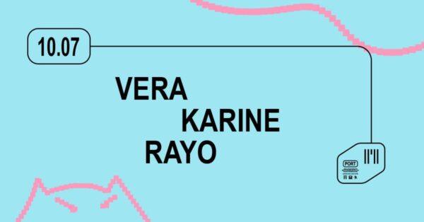 10/07 ДСК «PORT»: Vera, Karine, Rayo